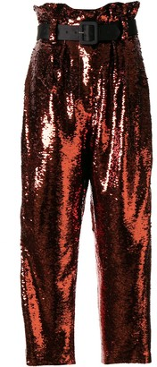 Racil Divine sequin embroidered trousers