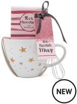 Baby Its Cold Outside... Hot Chocolate Mug, Choco Mix, Mini Marshmellow & Whisk Set