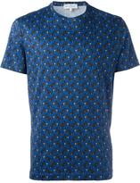 Salvatore Ferragamo bike print T-shirt