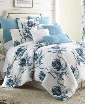 Colcha Linens Seascape Comforter Set-Twin Bedding