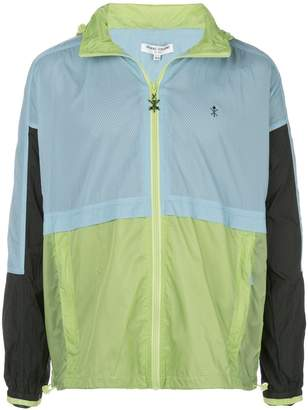 Opening Ceremony colour-block lightweight jacket