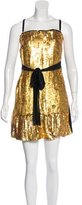 Dolce & Gabbana Sequined Sleeveless Top w/ Tags