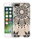 TOOPOOT Carved Damask Pattern Matte Hard Case Cover For iPhone 7 Plus 5.5 inch (f)