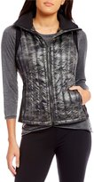 Calvin Klein Down-Filled Quilted Camouflage Print Vest