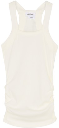 The Line By K Becks off-white stretch-jersey tank