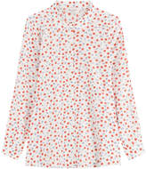 Paul & Joe Printed Cotton-Silk Shirt