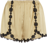 Giamba Slip Satin Shorts