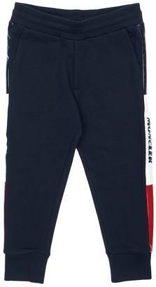 Moncler Cotton Sweatpants W/ Side Bands