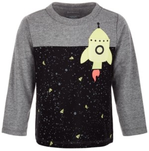 First Impressions Baby Boys Rocket Pocket T-Shirt, Created for Macy's