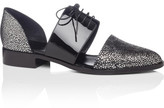 Emporio Armani Cut Out Lace Up