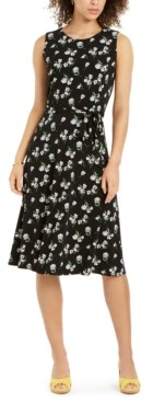 Charter Club Sleeveless Printed A-Line Dress, Created for Macy's