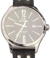 TW Steel Slim Line TW1300 Stainless Steel & Black Dial 45mm Mens Watch