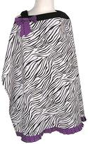 Trend Lab White & Purple Grape Expectations Nursing Cover
