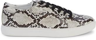 Kenneth Cole New York Kam Embossed Snake-Print Sneakers