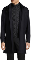 The Kooples Men's Twill Wool Coat