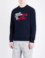 Billionaire Boys Club Logo-print cotton sweatshirt