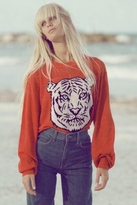 Wildfox Couture White Tiger Holiday Sweater in Lifeguard
