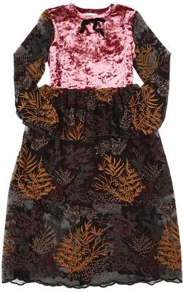 Wendy Lace & Velvet Long Dress