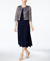 Jessica Howard Midi Dress & Lace Jacket
