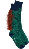 Marni fluffy trim socks