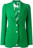 Dolce & Gabbana stitch trim blazer