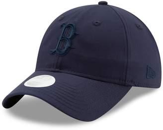 New Era Women's Navy Boston Red Sox Crisp Pick 9TWENTY Adjustable Hat