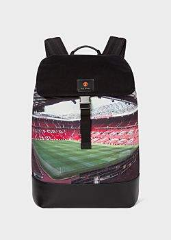 Paul Smith & Manchester United 'Old Trafford' Print Backpack