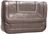Ted Baker Vivvian Langley Metallic Shoulder Bag (Silver) - Bags and Luggage