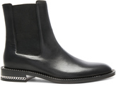 Givenchy Leather Ronela Flat Ankle Boots