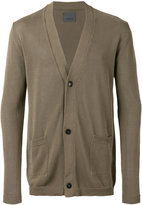 Laneus V-neck cardigan - men - Cotton - 48