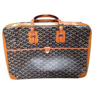 Goyard Grey Cloth Travel bags