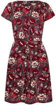 Yumi Chesterfield Wrap Dress