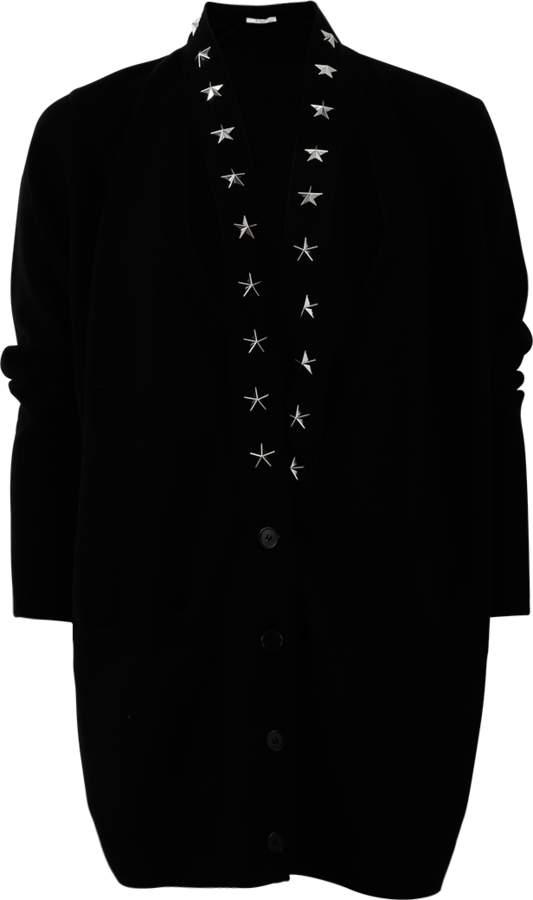 Givenchy Star Trim Cardigan