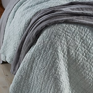 Coyuchi Twilight Organic Cotton Euro Sham