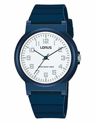 Lorus Boy's Analogue Quartz Watch with Silicone Strap RRX35GX9