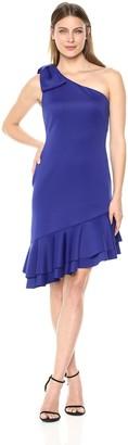 Eliza J Women's One Shoulder Bow Detail Dress