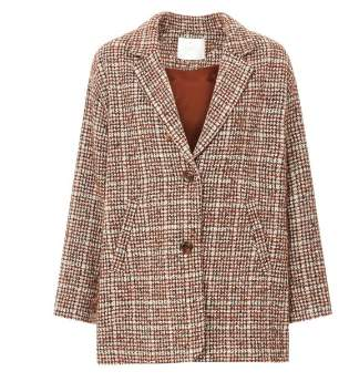 Des Petits Hauts 1H190507 Winter Coat Lirion Brown 13517001 - xsmall