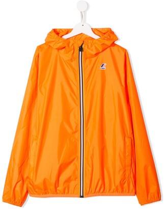 K Way Kids TEEN zipped lightweight jacket