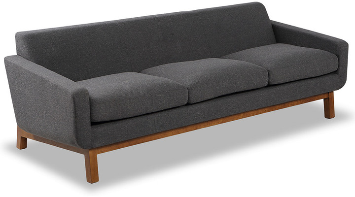 Platform Mid-Century Modern Classic Sofa