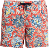 Etro Floral paisley-print swim shorts