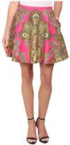 Ted Baker Gaplly Jewel Paisley Print Full Skirt