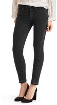 Gap Mid rise twist-seam true skinny ankle jeans