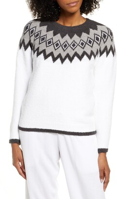 Barefoot Dreams CozyChic(TM) Nordic Sweater