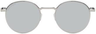 Saint Laurent Silver SL 250 Slim Sunglasses