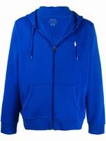 Polo Ralph Lauren embroidered logo zip-up hoodie