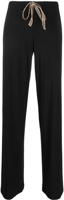 La Perla Drawstring Waist Pajama Trousers