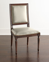 Horchow Massoud Ingram Leather Dining Chair, D6
