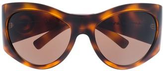 Versace Oversized Round Sunglasses