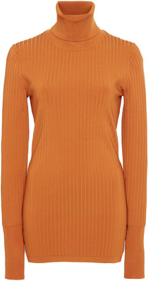 Joseph Ribbed-Knit Turtleneck Sweater