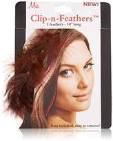 Mia Clip-n-Feathers Hair Feather,1 Ounce